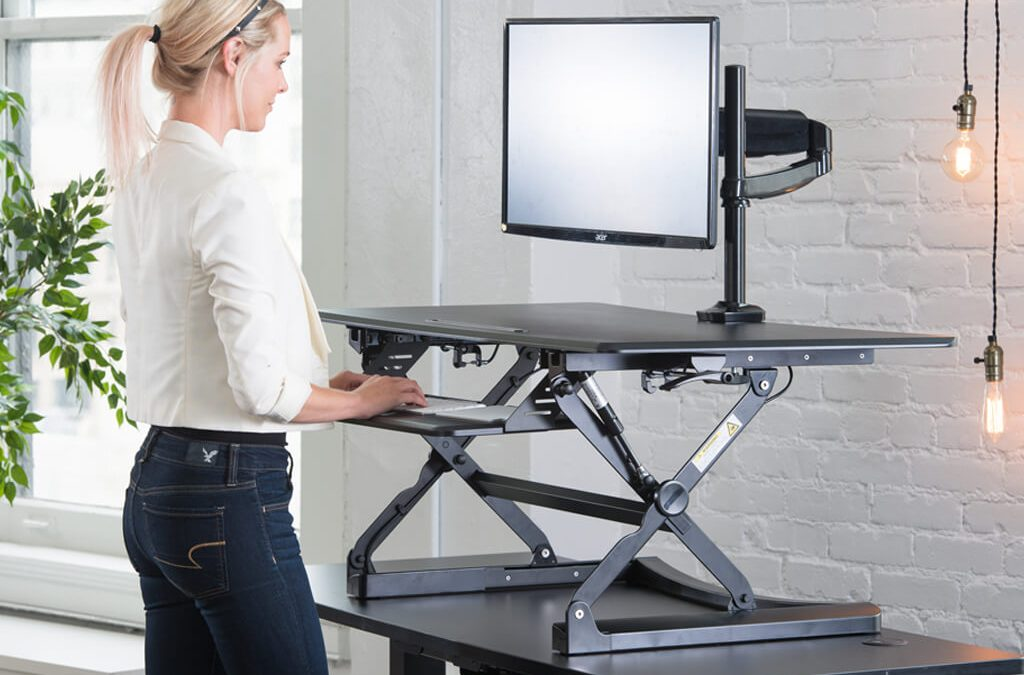 Revamping your room with standing desks.